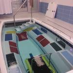 pool steps aquatic treadmill